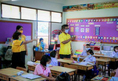 ตรวจเยี่ยม นิเทศการจัดการเรียนการสอนของคณะครู